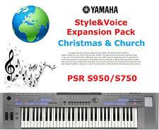Yamaha PSR S950-S750 Christmas & Church Expansion Pack