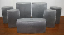 RCA 7.0 Speaker Set RTD300, Silver Home Theater Surround Sound, Center Front SAT