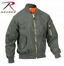 BOMBER JACKET COAT SUMMER Rothco Air Force Military Reversible MA-1 Flight  NEW