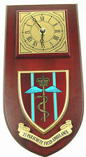 23 PARACHUTE FIELD AMBULANCE CLASSIC HAND MADE TO ORDER  WALL CLOCK