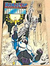 ROBOCOP VS TERMINATOR#1 VF/NM 1992 PLATINUM EDITION DARK HORSE COMICS