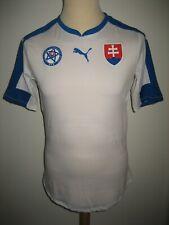 Slovakia PLAYER ISSUE away sfz football shirt soccer jersey trikot size L