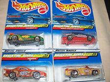 Hot Wheels   2000 Snack Time Series Cars    Complete Set of 4