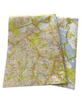 A-Z Street Map Wrapping Paper