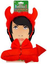 Demonio Corno Set 3 Pezzi Costume Da Gallina