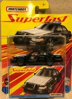 Matchbox 2020 Superfast - 2008 Ford Crown Victoria Police Car