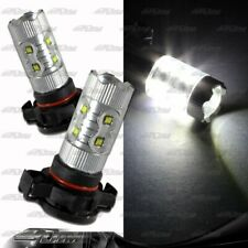 1x Pair GMC Pontiac Ford H16 / 9009 / 5202 50 Watt 10 LED White Projector Bulbs