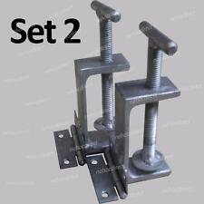 Screen print hinge clamps. Heavy duty use all frames, wider clamp than speedball