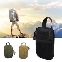 Tactical Molle Medical First Aid Edc Pouch Phone Pocket Bag Organizer Outdoor