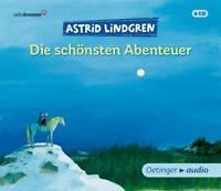 DIE SCHÖNSTEN ABENTEUER - LINDGREN,ASTRID  6 CD NEU