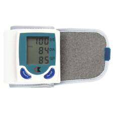 Automatic Wrist Blood Pressure Monitor Digital Cuff FDA Approved Pulse LCD