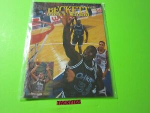 SHAQUILLE O'NEAL BECKETT PRICE GUIDE APRIL 1995 ISSUE #57