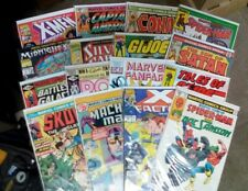 Mighty Marvel Comics Mix Lot(70s,80s,90s)X-Men G.i.Joe Captain America More!!