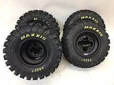 Dwt A5 Noir Roues Jantes Maxxis Razr 2 Pneus avant / Arrière XC Kit Raptor 700