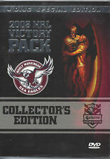 Manly Sea Eagles 2008 NRL Victory Pack (4 Disc Edition)