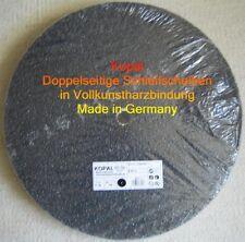 10 x doppelseitige Schleifscheiben 400 mm Korn 60 Vollkunstharzbindung