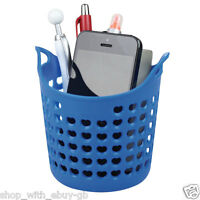Desk Wash Basket / Tidy - PEN PENCIL & PHONE HOLDER POT - OFFICE STATIONERY
