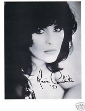 Maria Conchita signed  photo, in Moscow on the Hudson,Knight Rider,Predator 2