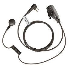 2 x MOTOROLA Radio 2 Pin Earpiece (MP Style Headset with PTT Microphone)