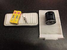 PEUGEOT 107 1.0 SERVICE KIT OIL CABIN AIR FILTERS SPARK PLUGS NGK