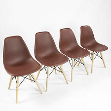 REBOXED 4X Premium Home Dining Room Chairs Kitchen Furniture Beech Wood Legs