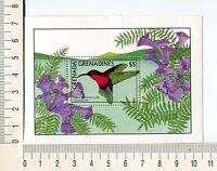 36755) Grenada Grenadines 1988 MNH Birds S/S