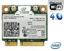 + Intel® Wireless-N 7260 7260HMW AN Dual Band WLAN+Bluetooth 4.0 Mini PCIe +