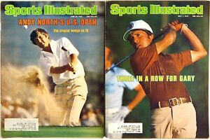 LOT (2) SPORTS ILLUSTRATED GOLF Gary Player 5/1/78 Andy North US Open 6/26/78