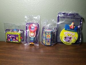 SUBWAY KIDS PAK MEAL Complete 4 toy set HISTERIA TOYS (new in packaging)