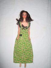 Busy Steffie head on tnt body wearing a Barbie tagged dress