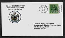 The Shawshank Redemption Collector's Envelope Addressed to Andy Dufresne *1064