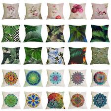 Mel-Home Bohemia Syle Linen Cushion Covers Pillow Case Cushion Cover Home Decor