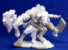 1 x MINOTAUR - BONES REAPER figurine miniature d&d bull axe minotaure 77013