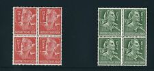 1944 MNH stamp block set / Hitler Youth / Labor corps / MNH Third Reich set