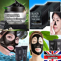 Luxury Blackhead Remover Peel Off Facial Cleansing Nose Pore Black Masks Face