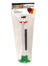 Specific Gravity Hydrometer Combo Kit for Beer, Wine, Mead & Cider