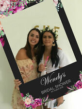 Bridal Shower Instagram Selfie Frame  Facebook Props, Hens Night, 600x900mm