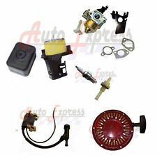 Gx200 GX160 Carburetor Recoil Starter Ignition Coil Air Box Fuel Honda  Engine