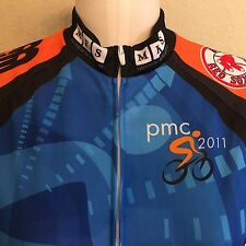Primal PMC Pan-Mass Challenge 2011 Cycling Jersey Womens S Red Sox Harpoon BMW