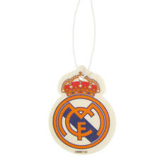 Real Madrid Fc Air Freshener Crest Car Smell Fresh Football Gift Player Team New