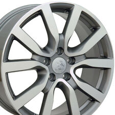 "18"" Wheels Fits VW Rabbit Tiguan EOS Passat Jetta MK5 MK6 18x7.5 Rims Set (4)"