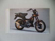 - RITAGLIO DI GIORNALE ANNO 1989 - MALAGUTI FIFTY FULL CX 50