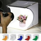 LED Photo Studio Lighting Mini Box Portable Photography Backdrop Light Room Tent