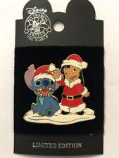 Disney Parks Disneyland Lilo & Stitch Santa's Helpers Christmas Holiday LE Pin