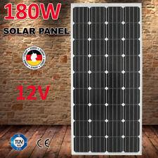 180W 12V MONO Solar Panel Kit RV BOAT CARAVAN Camping Power Charging 4x4
