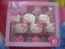 Hello Kitty Shower Curtain Hooks Set/12 Hooks