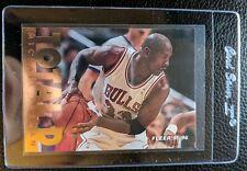 1995 96 FLEER #200 MICHAEL JORDAN TOTAL D GOLD FOIL CHICAGO BULLS HOF MINT