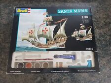 Revell 1/90 Santa Maria Ship Good Condition Sealed Parts and Paints