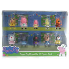 Peppa Pig Dress Up Articulated Figures - 10 Pack - Wave 2 - OPP-06668