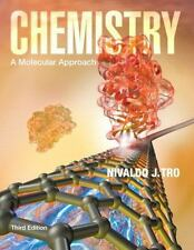 Chemistry : A Molecular Approach by Nivaldo J. Tro 2014, Hardcover, 3rd Edition